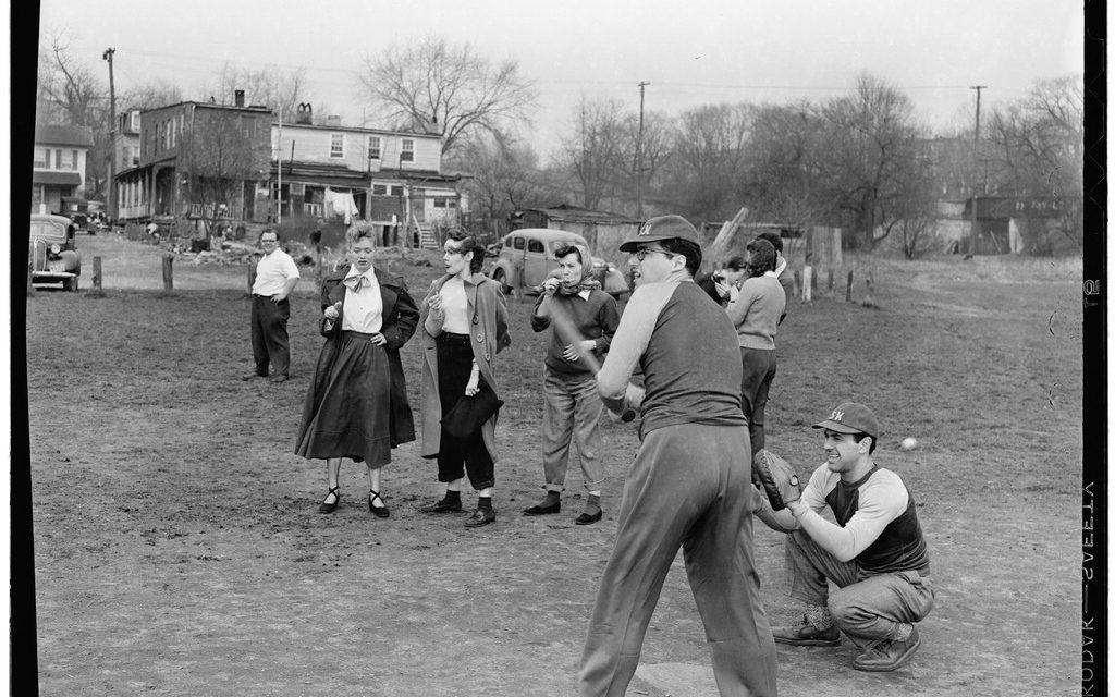 1950s Little League Baseball